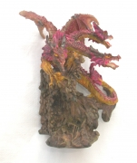 Three Head Dragon Statue