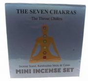 Throat Chakra Incense Boxed Set