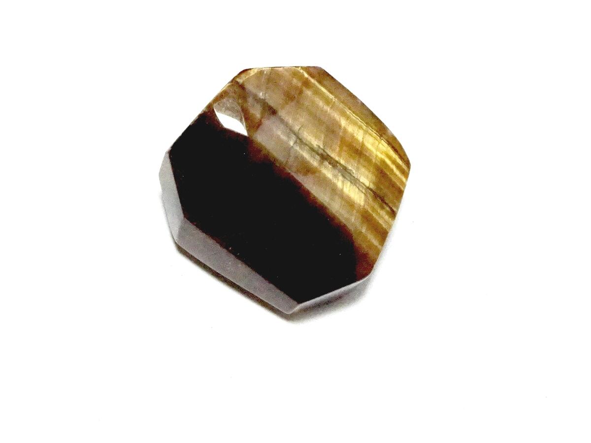 Tiger Eye Facetted Specimen Gemstone 1