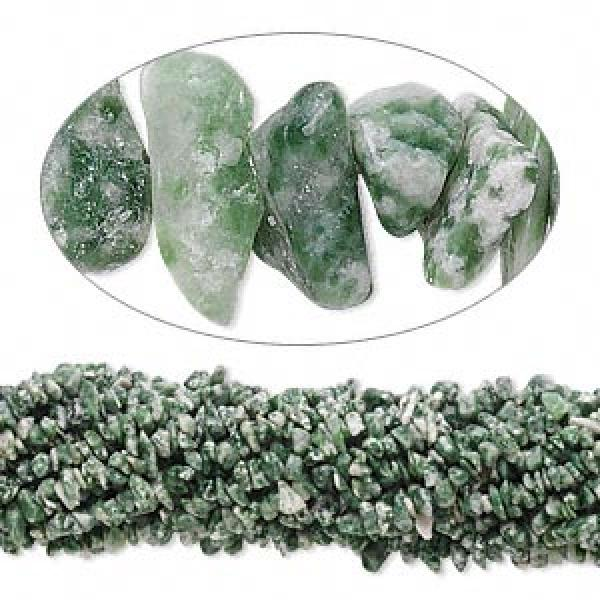 Tree Agate Gemstone Chip Necklace