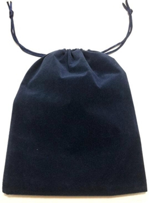 Navy Velour Tarot Pouch / Bag