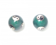 Yin and Yang Baoding Stress Relief Enamel Balls