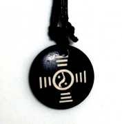 Yin and Yang Design Pendant